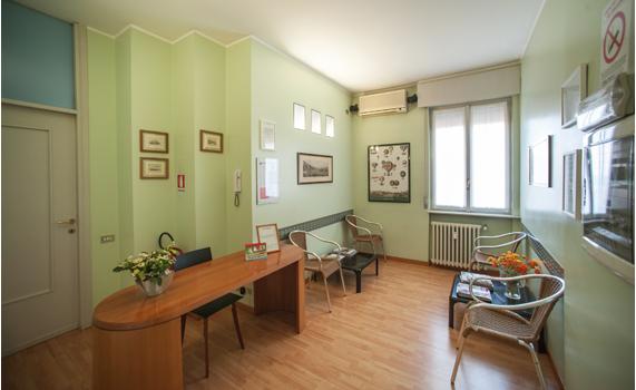 gli ambienti accoglienti degli studi dentistici motta